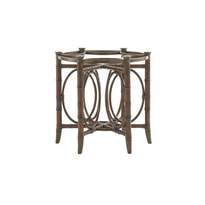 Coral Sea Rattan Dining Table Base | Tommy Bahama Home