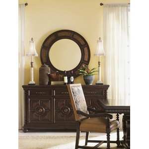 Helena Round Mirror | Lexington