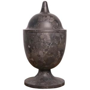 Black Marble Vessel