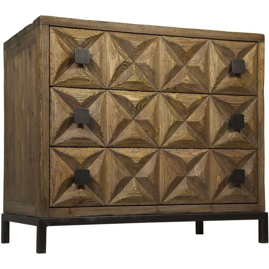 Jones Three Drawer Sideboard | Noir
