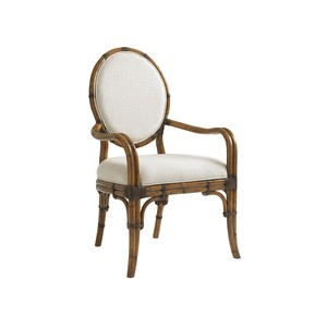 Gulfstream Oval Back Arm Chair | Tommy Bahama Home