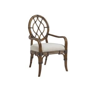 Cedar Key Oval Back Arm Chair | Tommy Bahama Home
