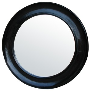 Small Sutton Mirror | Noir