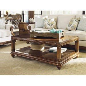 Vineyard Point Rectangular Cocktail Table | Tommy Bahama Home
