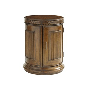 Belize Round End Table | Tommy Bahama Home
