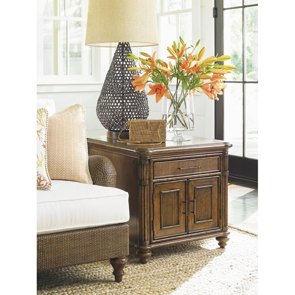 Mariner Storage End Table | Tommy Bahama Home