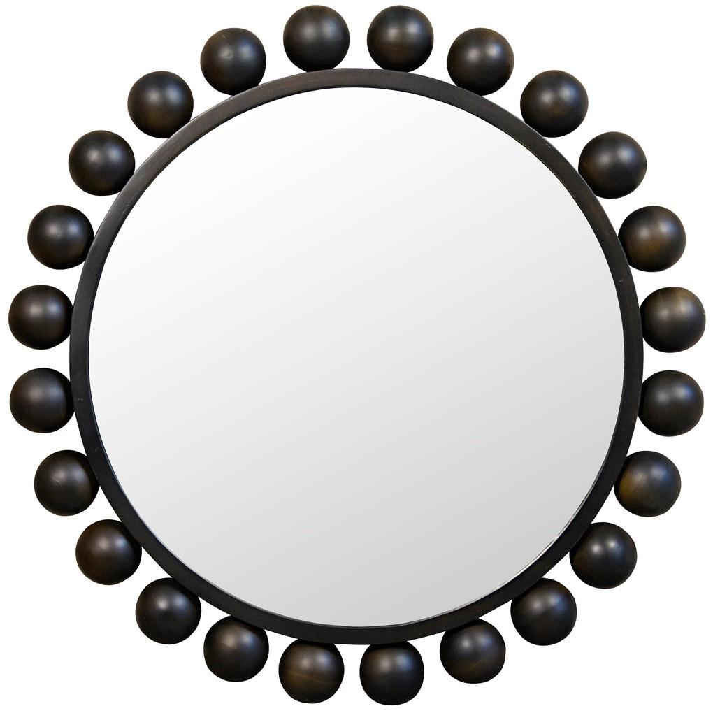 Cooper Mirror | Noir