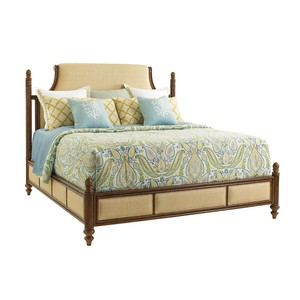 Orchid Bay King Upholstered Panel Bed