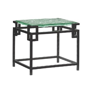 Hermes Reef Glass Top End Table | Tommy Bahama Home
