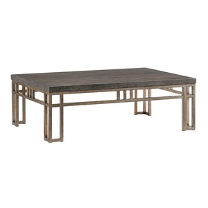 Montera Travertine Cocktail Table | Tommy Bahama Home