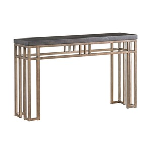 Montera Travertine Console Table | Tommy Bahama Home