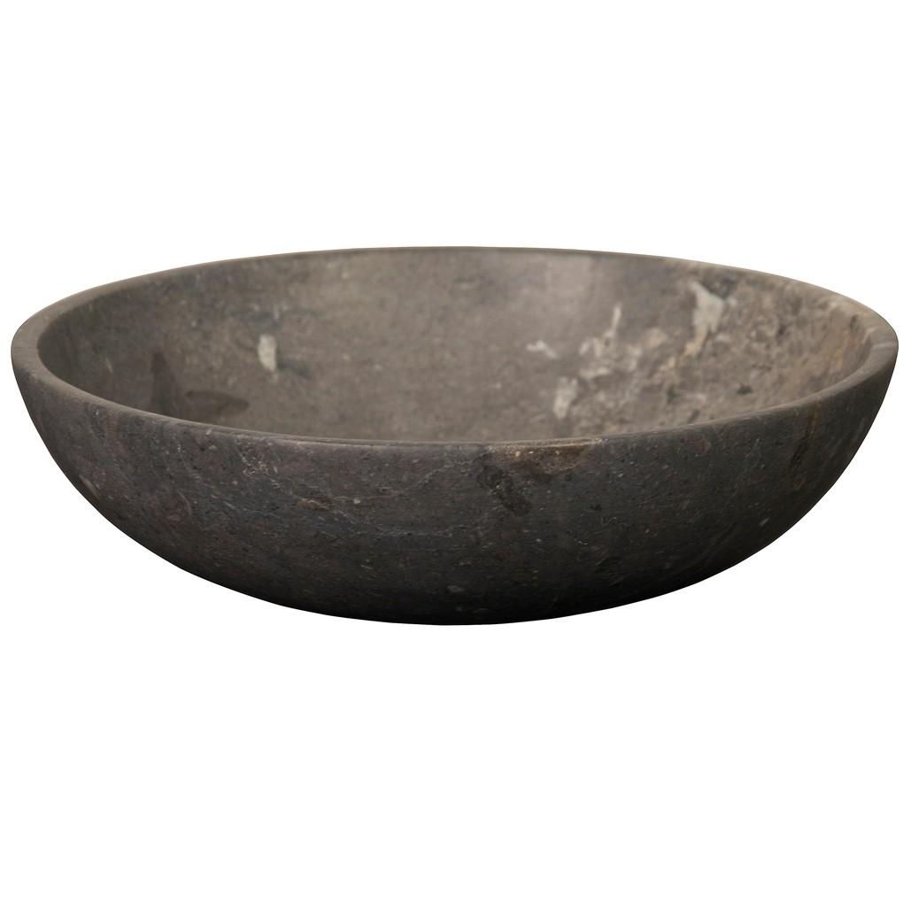 Black Marble Bowl | Noir