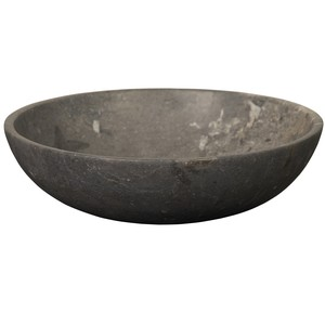 Black Marble Bowl | Noir