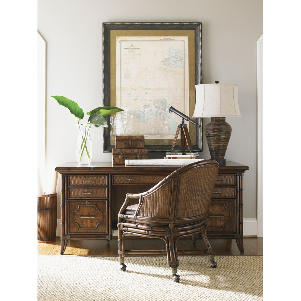 Rum Runner Leather Desk Chair | Lexington