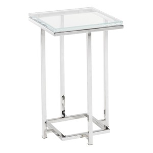 Stanwyck Glass Top Accent Table | Lexington