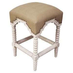 Abacus Counter Stool | Noir