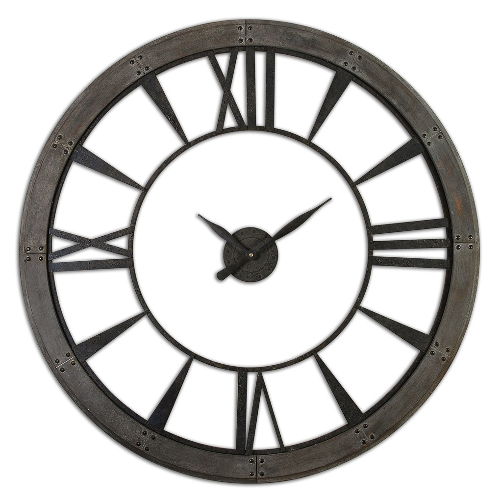 Ronan Large Wall Clock | The Uttermost Company