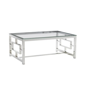 Russell Glass Top Cocktail Table | Lexington