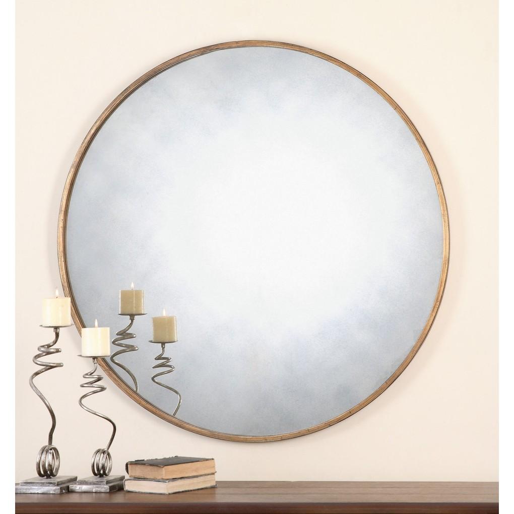 Junius Round Mirror | The Uttermost Company