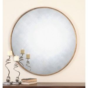 Junius Round Mirror | The Uttermost Company