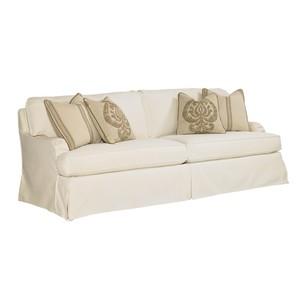 Stowe Slipcover Sofa in Cream   Lexington