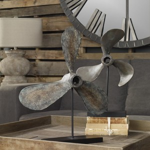Propellers Tabletop Décor | The Uttermost Company