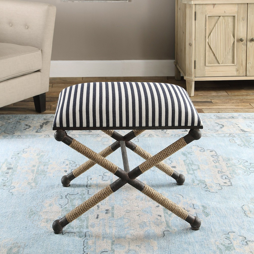 Braddock Small Bench | The Uttermost Company