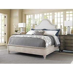 Arbor Hills King Upholstered Bed | Lexington