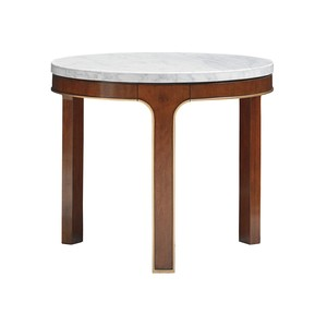 Interlude Round End Table | Lexington