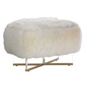 Bleeker Leather Bed Bench | Lexington