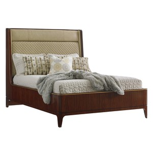 Empire Queen Upholstered Platform Bed | Lexington