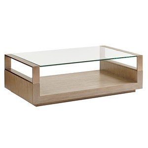 Center Stage Rectangular Cocktail Table | Lexington