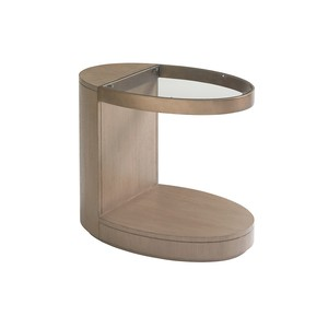 Highball Oval End Table