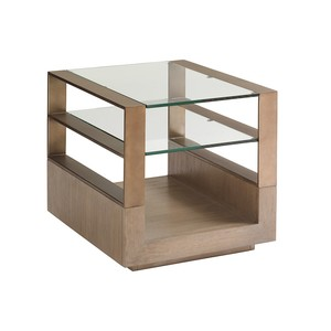Center Stage Rectangular Lamp Table