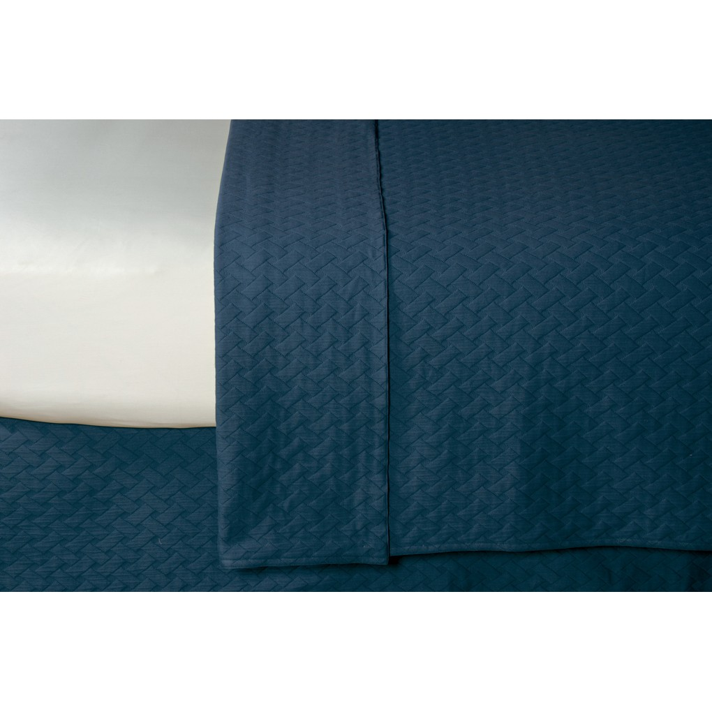 Briseyda Indigo Super Queen Coverlet | Eastern Accents