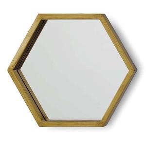 Bee Hive Mirror Set-Set Of 5