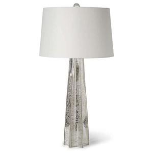 Antique Mercury Glass Star Lamp | Regina Andrew