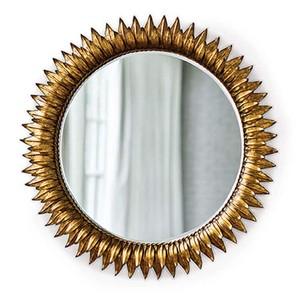 Round Sun Flower Beveled Mirror | Regina Andrew