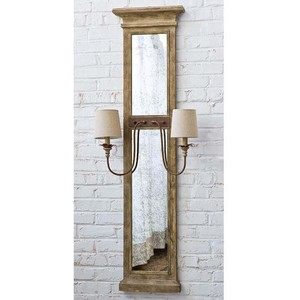 Provence Mirror Panel Sconce