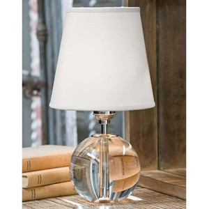 Clear Crystal Mini Sphere Lamp | Regina Andrew