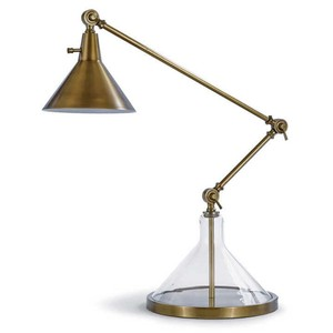 Glass Funnel Beaker Lab Lamp | Regina Andrew