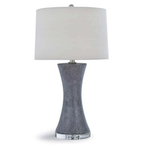 Clara Ceramic Shagreen Lamp