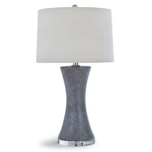Clara Ceramic Shagreen Lamp   Regina Andrew
