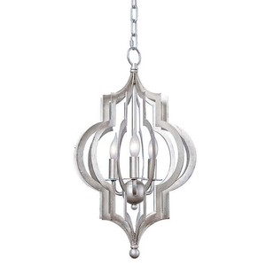 Pattern Makers Silver Chandelier | Regina Andrew