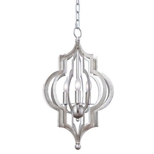 Pattern Makers Silver Chandelier