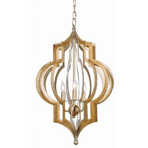 Pattern Makers Gold Chandelier