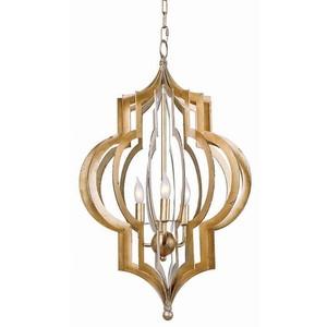 Pattern Makers Gold Chandelier | Regina Andrew