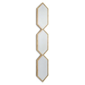 Triple Diamond Wall Panel in Gold | Regina Andrew