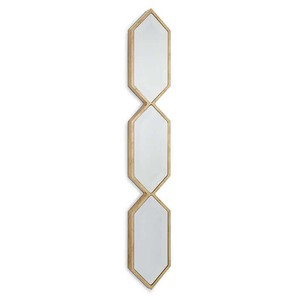 Triple Diamond Wall Panel in Gold | Regina Andrew