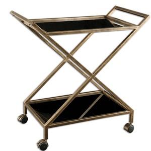 Zafina Bar Cart | The Uttermost Company